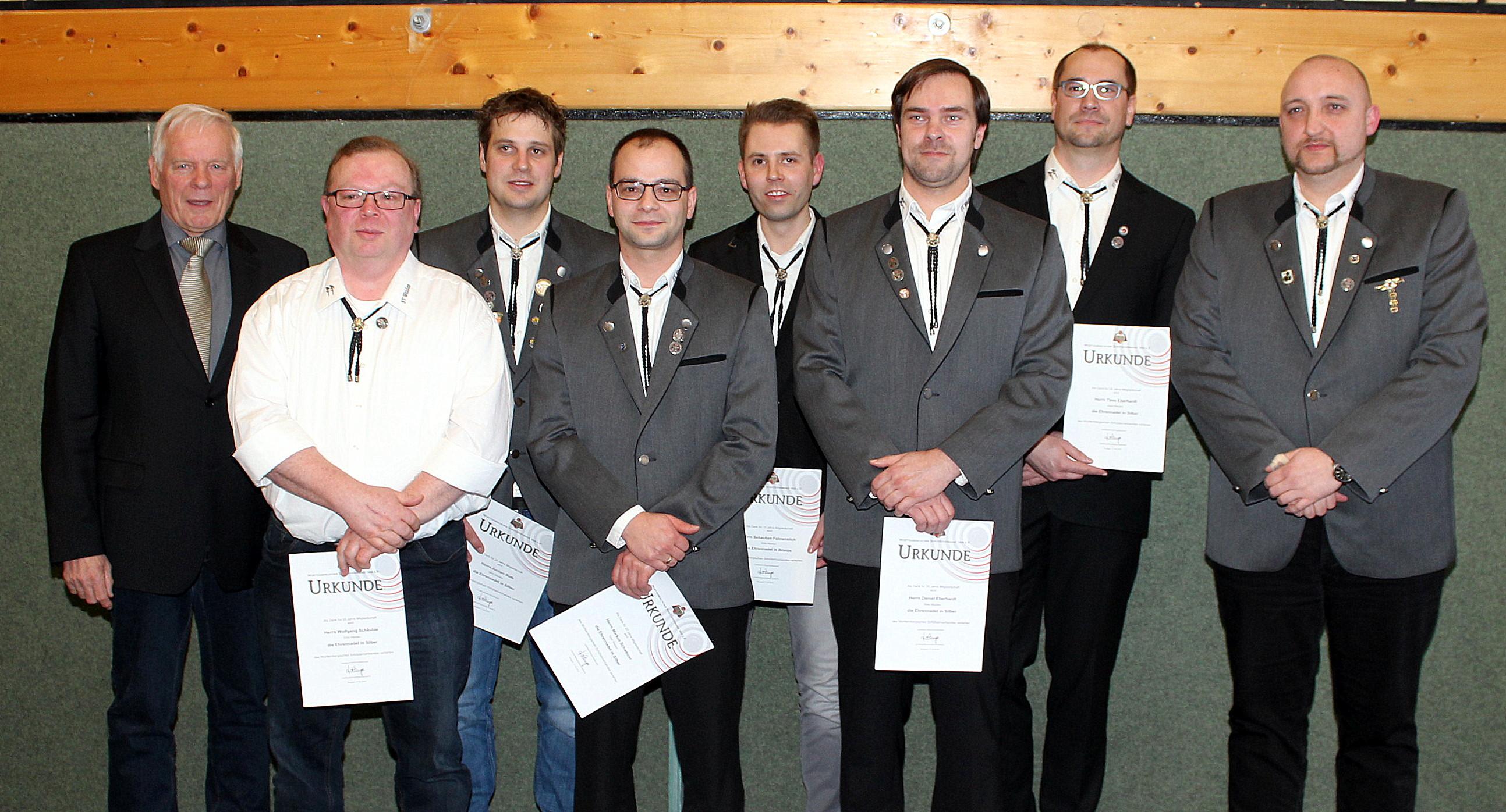 Kreisschützentag Ehrungen SAbt Weiden WSV und DSB