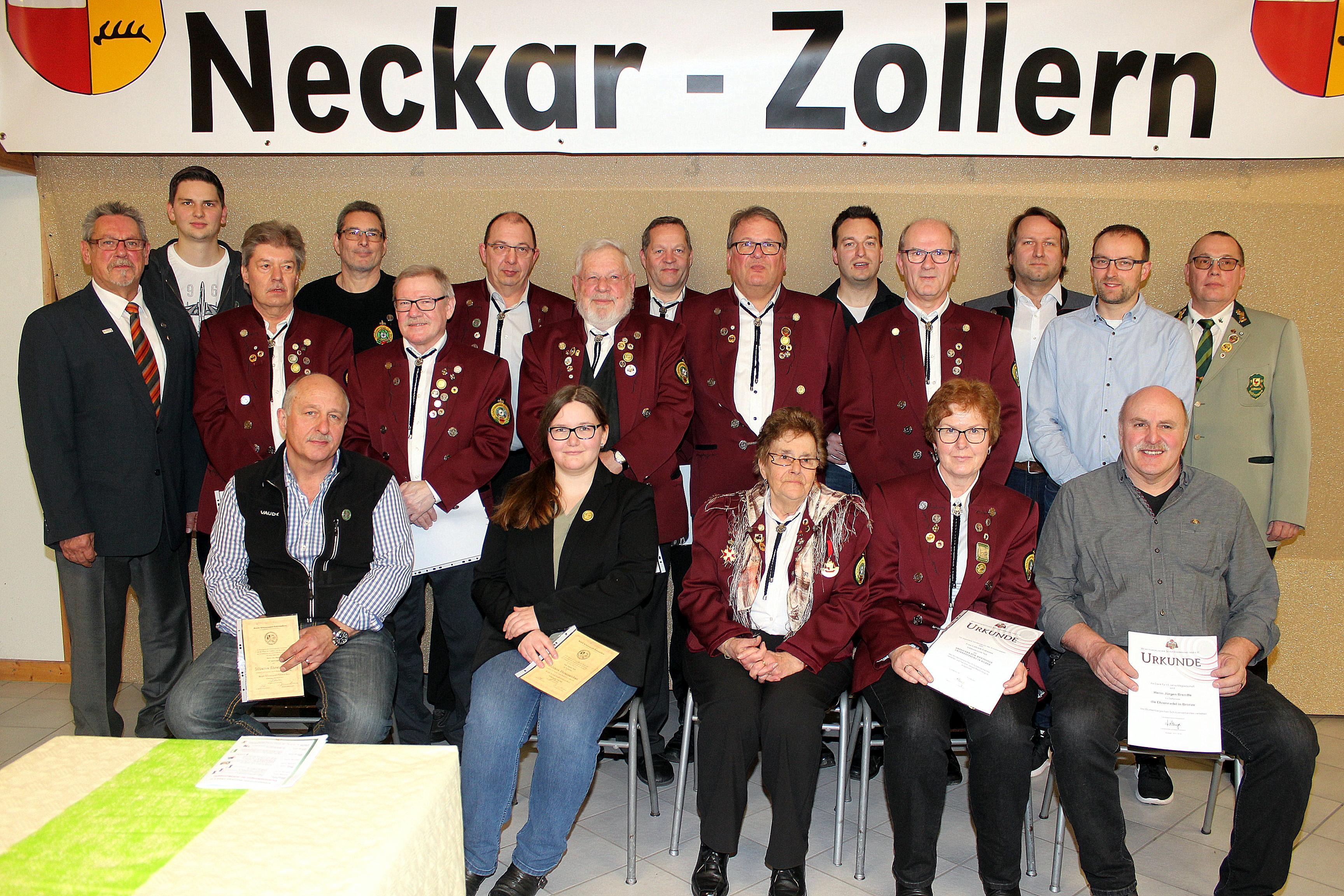Kreisschützentag 2019 Mitgliederehrung